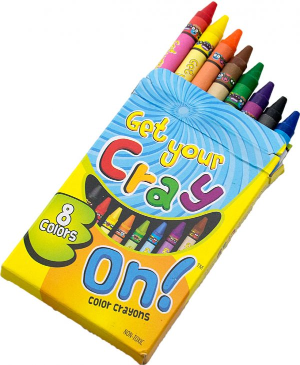 Get Your Cray On! Crayons
