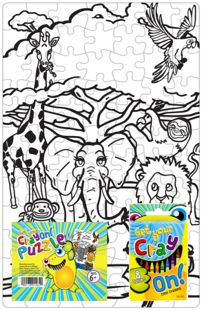 Get Your Cray On Puzzle - Safari