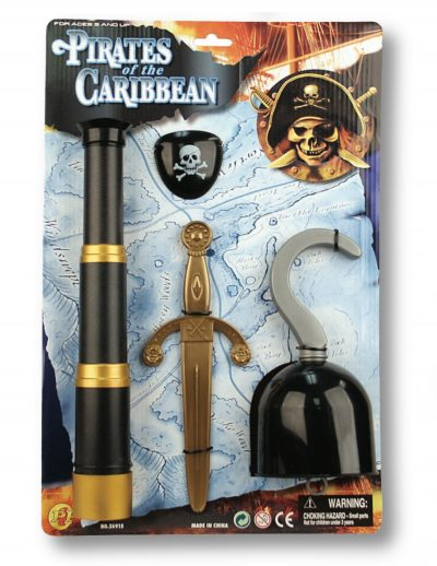 Roustabout Be a Pirate Accessory Kit