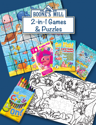 2-in-1 Games & Puzzles
