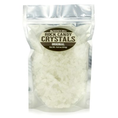 Rock Candy Crystals Original Flavor White Clear Crystals