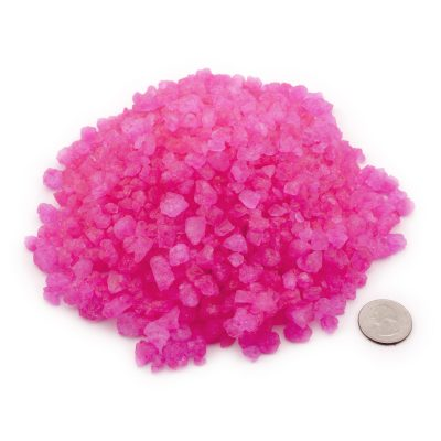 Rock Candy Crystals Pink Cotton Candy