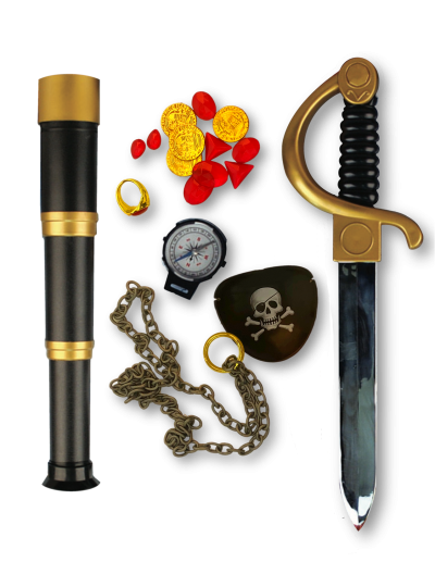 Buccaneer Be a Pirate Accessory Kit